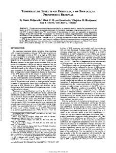 Temperature Effects on Physiology of Biological ...