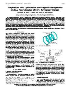 Temperature Field Optimization and Magnetic ... - IEEE Xplore
