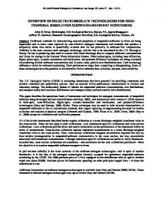 temporal resolution suspended-sediment monitoring - USGS Water ...