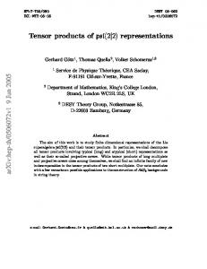 Tensor products of psl (2| 2) representations