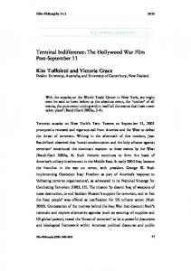 Terminal Indifference: The Hollywood War Film Post ... - Film-Philosophy