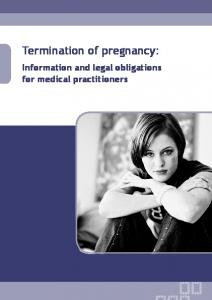 Termination of pregnancy: