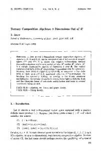 Ternary composition algebras: 8 dimensions out of 4?