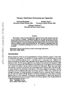 Ternary Distributive Structures and Quandles
