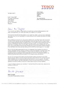 TESCO - Keith Taylor MEP