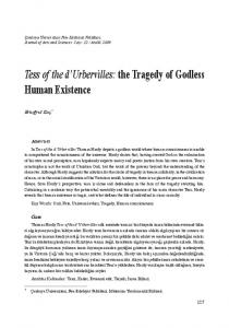 Tess of the d'Urbervilles: the Tragedy of Godless Human Existence