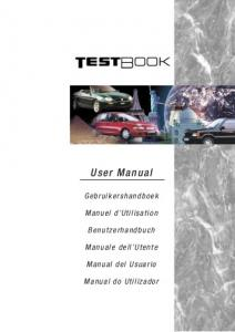 TestBook 2 User Manual - 2nd Edition - Eng - US Cars