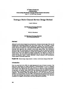 Design of a low cost multi channel data logger arpn journals testing a multi channel service design method sciox Image collections