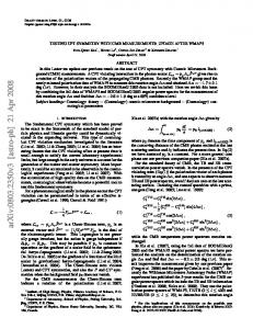 TESTING CPT SYMMETRY WITH CMB MEASUREMENTS: UPDATE ...