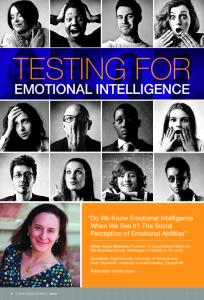 Testing for Emotional Intelligence - Olin Business School