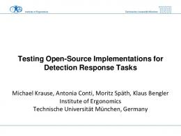 Testing Open-Source Implementations for Detection ...