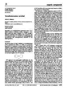 Tetrathiafulvalene revisited - IUCr Journals