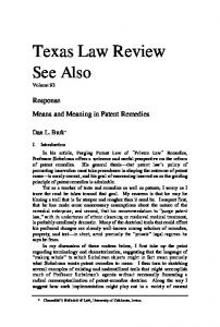 Texas Law Review See Also