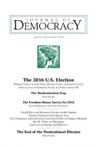 The 2016 U.S. Election - Journal of Democracy