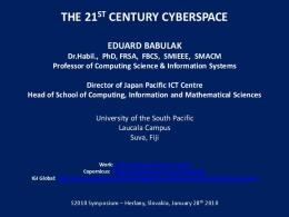 the 21st century cyberspace