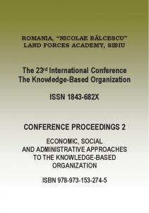 The 23rd International Conference The Knowledge ...