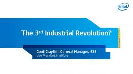 The 3rd Industrial Revolution?