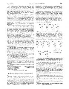 The absolute configurations of the carvomenthols, J. Am. Chem. Soc ...