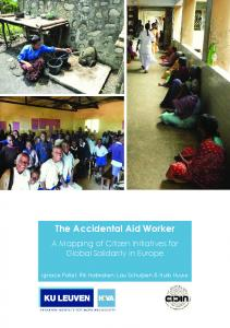The Accidental Aid Worker