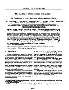The Ame2016 atomic mass evaluation