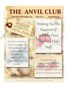the anvil club - Squarespace