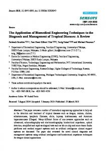 The Application of Biomedical Engineering