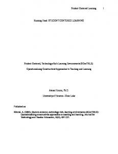 The application of telecommunication technologies for
