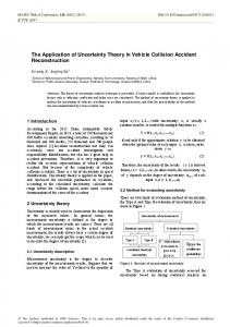 The Application of Uncertainty Theory in Vehicle Collision Accident