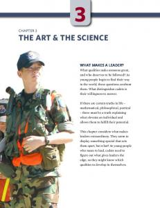 THE ART & THE SCIENCE