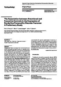 The Association between Attentional and ... - Semantic Scholar