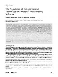 The Association of Robotic Surgical Technology ... - Wiley Online Library
