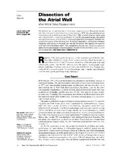 the Atrial Wall - Europe PMC