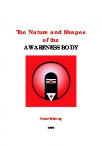 THE AWARENESS BODY AS UNIFIED FIELD ... - THE NEW YOGA