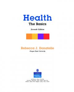The Basics - Pearson Education