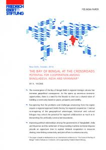 the bay of bengal at the crossroads - Online Burma Library
