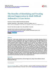 The Benefits of Identifying and Treating Adrenal ... - Semantic Scholar