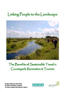 The Benefits of Sustainable Travel in Countryside ... - Transplan