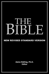 The Bible, New Revised Standard Version