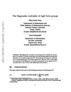 The Bogomolov multiplier of rigid finite groups
