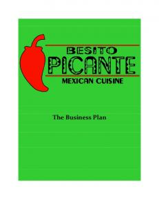 The Business Plan - Pace University
