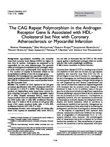 The CAG Repeat Polymorphism in the Androgen ... - Semantic Scholar