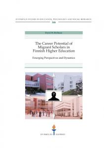 The Career Potential of Migrant Scholars in Finnish Higher Education