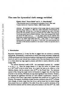 The case for dynamical dark energy revisited
