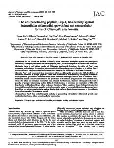 The cell-penetrating peptide, Pep-1, has activity ... - Semantic Scholar
