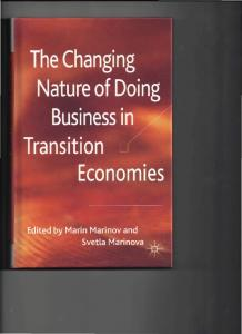 The Changing Business in Transition Economies