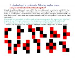 The Checkerboard Puzzle (pdf)