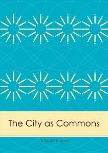 The City as Commons - Unglue.it