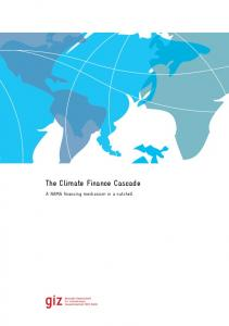 The Climate Finance Cascade - A NAMA finance mechanism in a ...