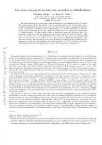 The closure constraint for the hyperbolic tetrahedron as a Bianchi ...