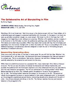 The Collaborative Art of Storytelling in Film - wmrict
